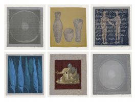 'Excerpts from Heaven (set of 6 screenprints, 31x31cm, 1998)'